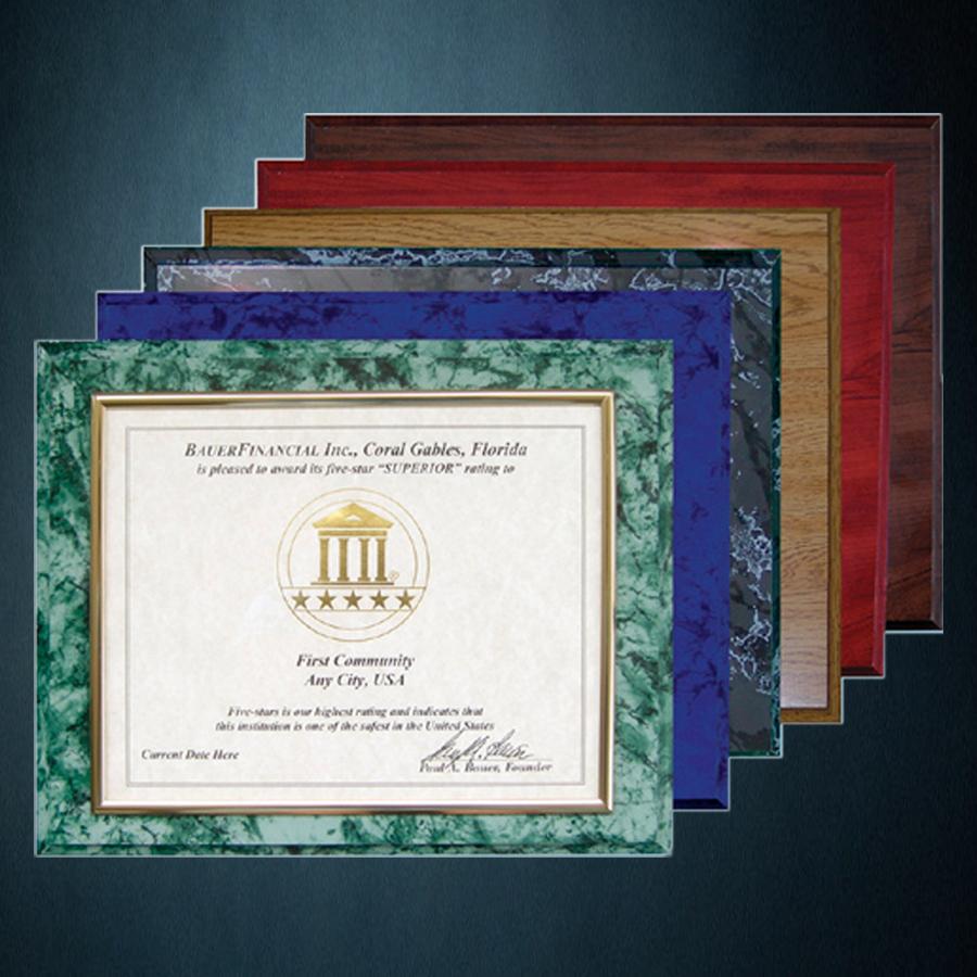 5 star award certificate bauerfinancial