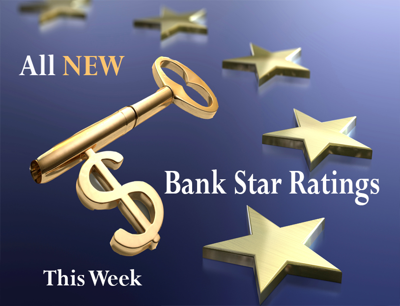 All New bank Star Ratings this week