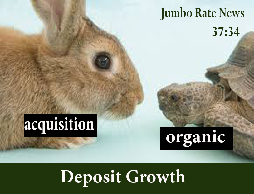 The tortoise and the hare of deposit growth