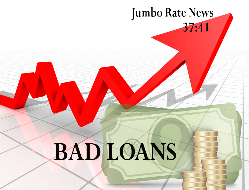 Bad Loans are Heading Up